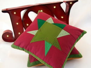 Holiday Pillow Joy | The Leasser Bear